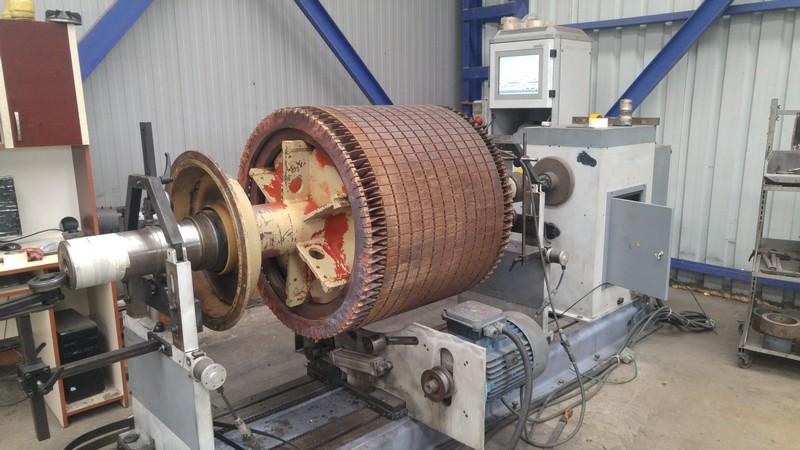 adana-asenkron-motor-rotor balansi-sarim-bakim