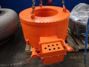 Concast manyetik karıştırıcı
