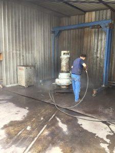 atık su adalgıç pompa sarım bakım onarımı